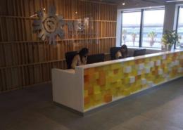 Tourvest Reception Design