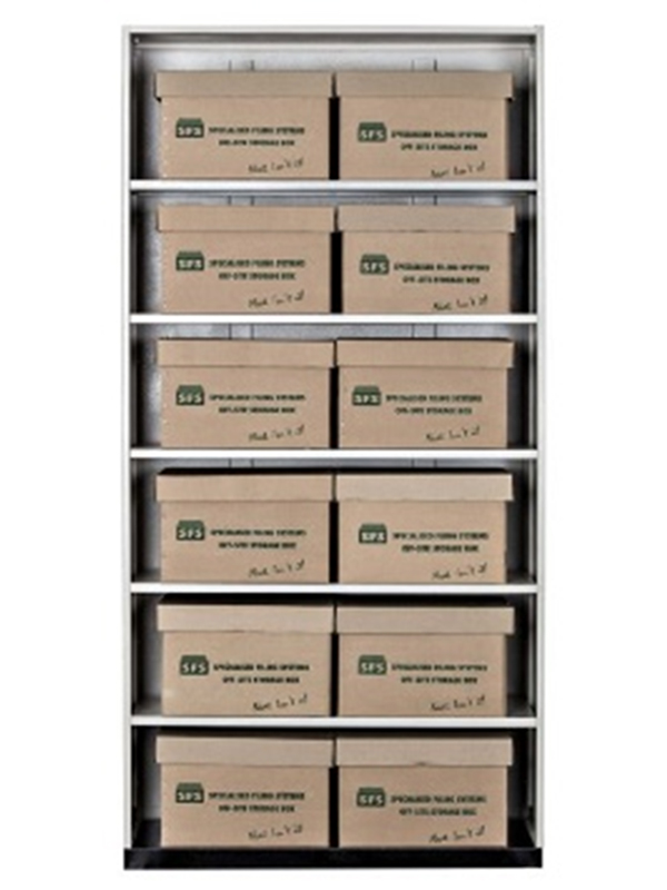 Offsite storage boxes