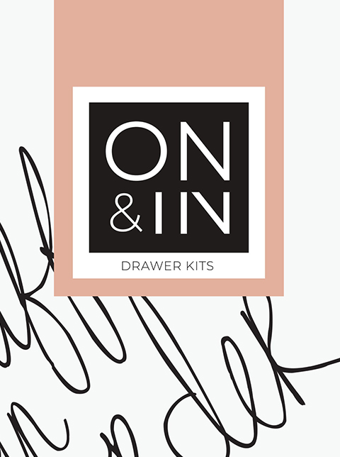 DIGITAL DRAWER ORGANISING KITS BROCHURE