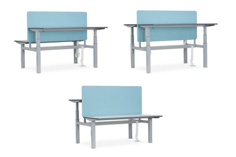Nowystyl Height Adjustable Desk Double