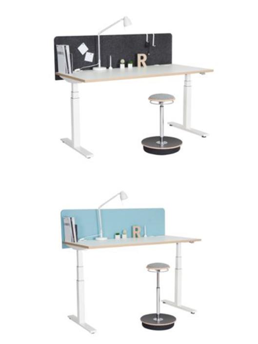 Nowystyl Height Adjustable Desk Single