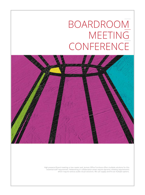 BOARDROOM MEETING CONFERENCE 2021